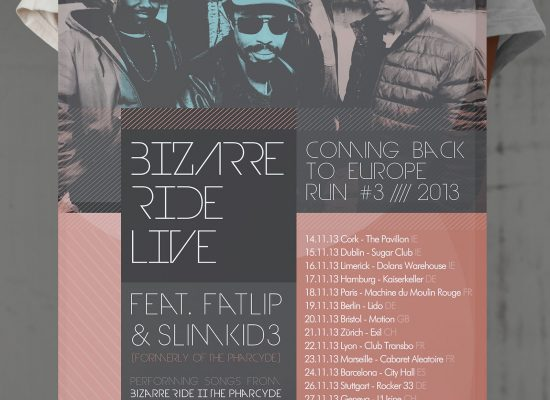 BIZARRE RIDE LIVE | TOUR Plakat Poster - L2i.de - The Listen-To-It Network