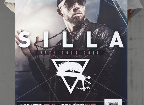 SILLA | TOUR Plakat Poster - L2i.de - The Listen-To-It Network