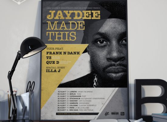 JAYDEE | TOUR Plakat Poster - L2i.de - The Listen-To-It Network