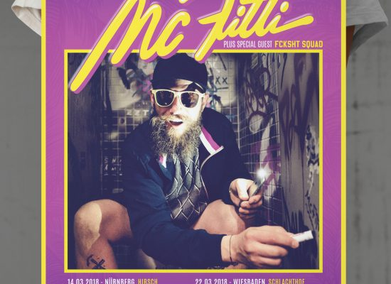MC FITTI | TOUR Plakat Poster - L2i.de - The Listen-To-It Network