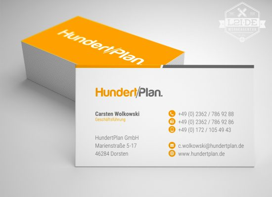 HUNDERTPLAN | Visitenkarte - L2i.de - The Listen-To-It Network