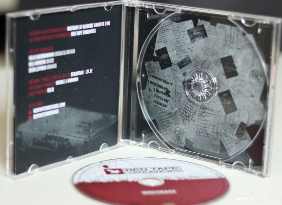 RED TAPE TENDENCIES | CD Artwork - L2i.de - The Listen-To-It Network