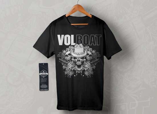 VOLBOAT | T-Shirt Design - L2i.de - The Listen-To-It Network