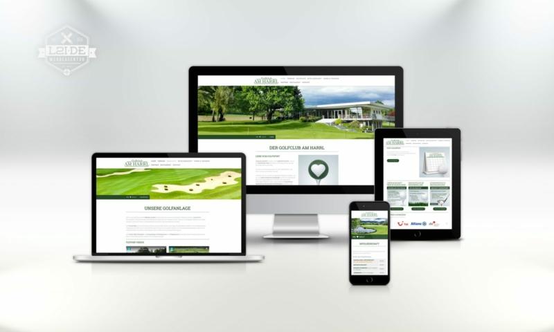 Website Golfclub Bad Eilsen